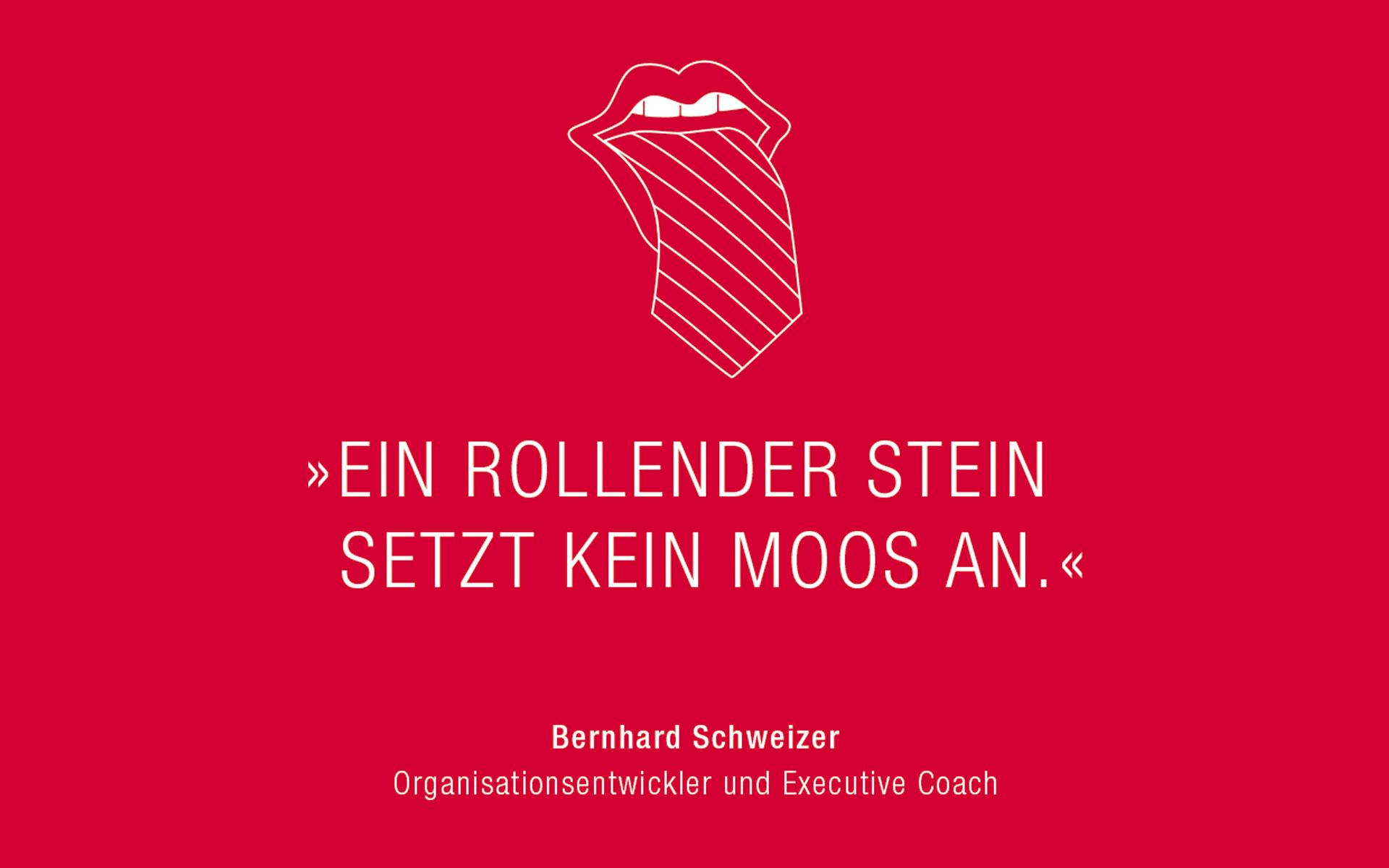 Bernhard Schweizer Postkarte