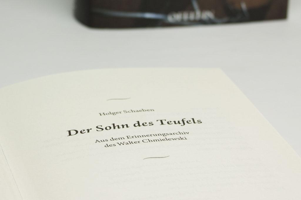 Der Sohn des Teufels – Buch