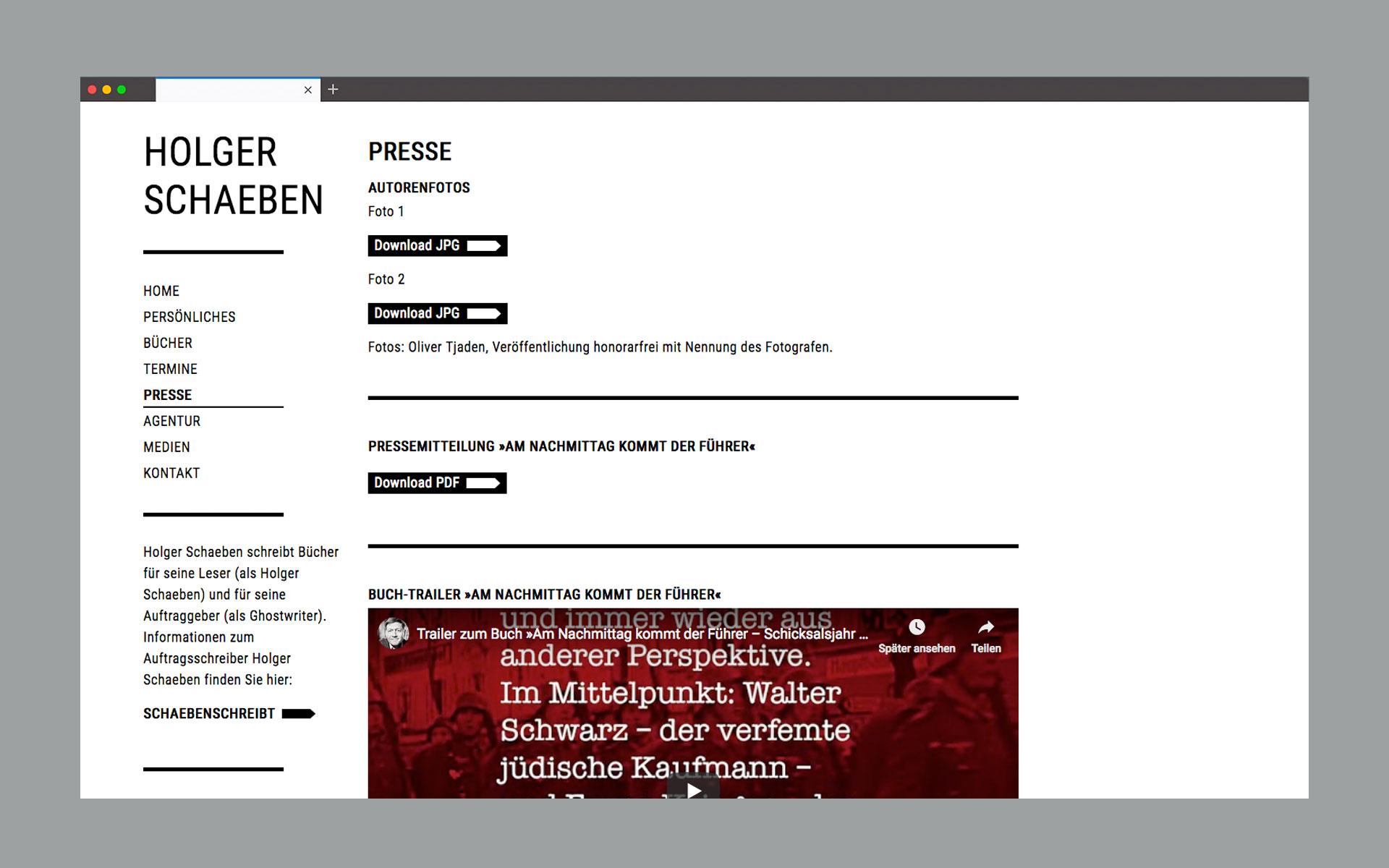 Holger Schaeben Website