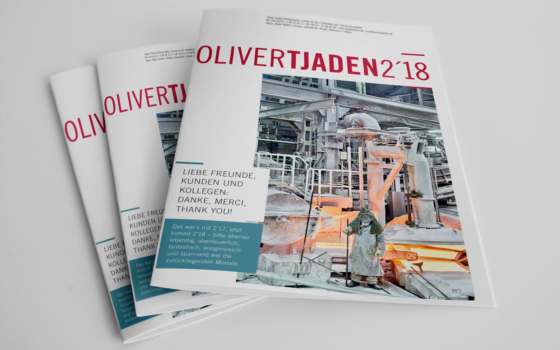Newsletter Oliver Tjaden 2018