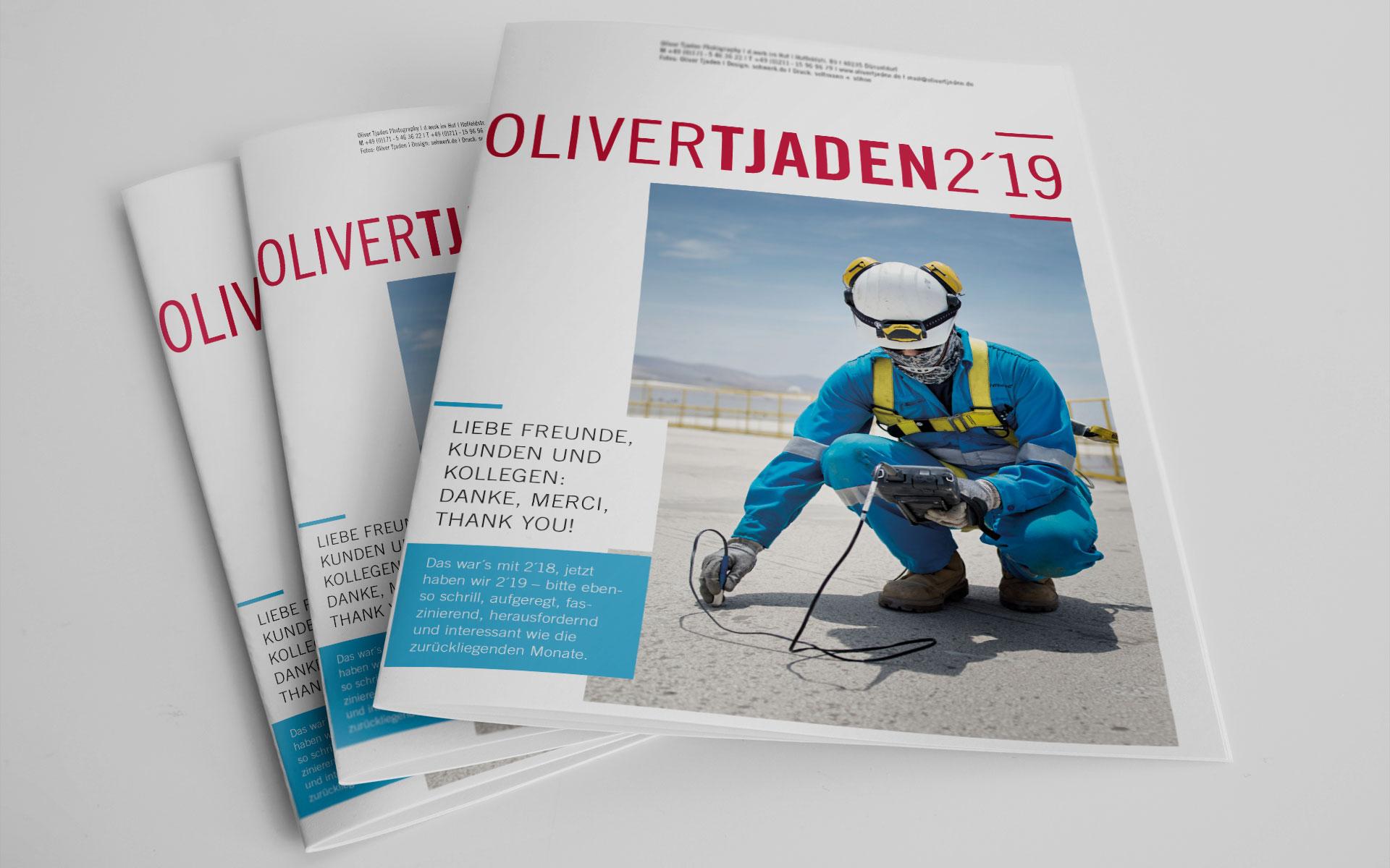Newsletter Oliver Tjaden 2019