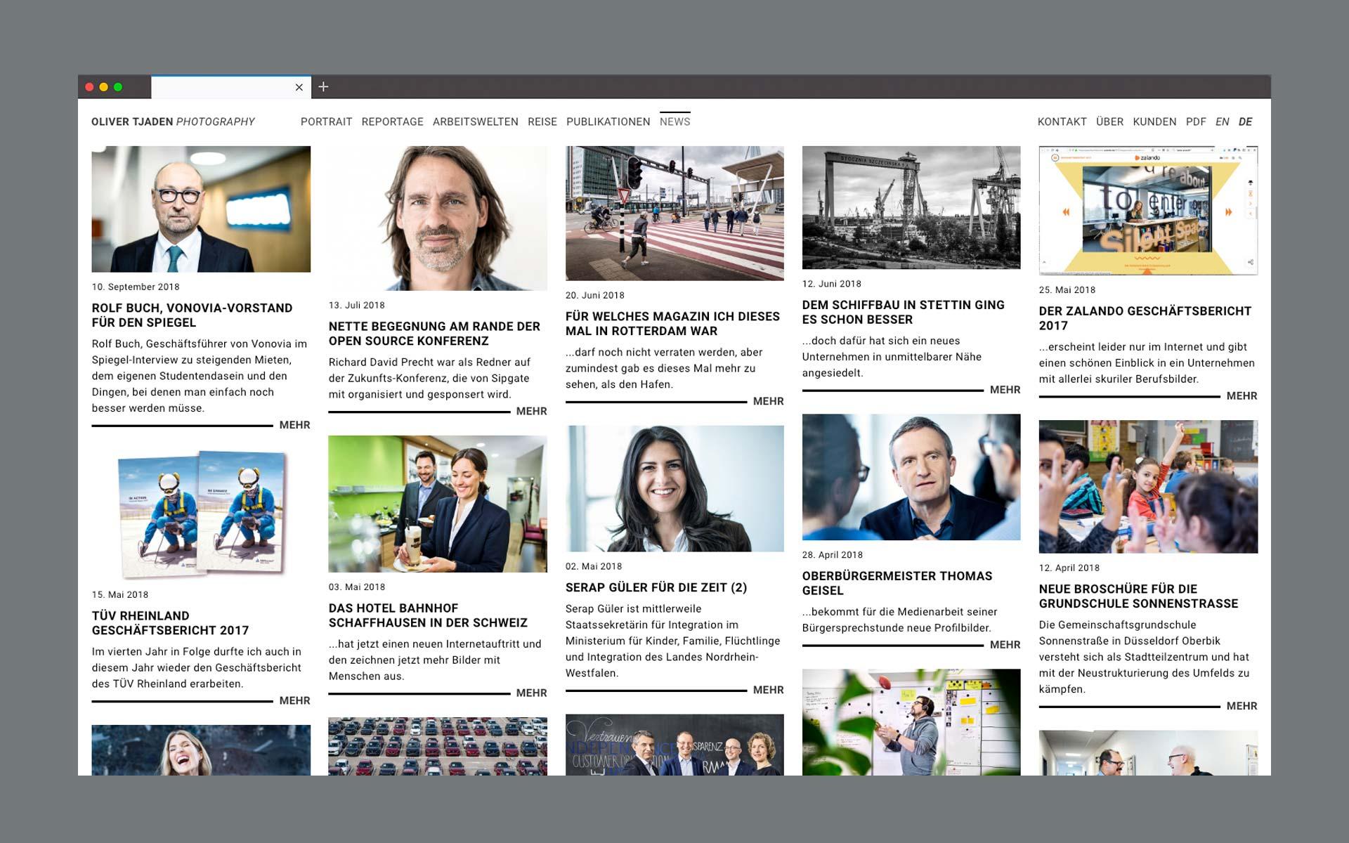 Website Oliver Tjaden