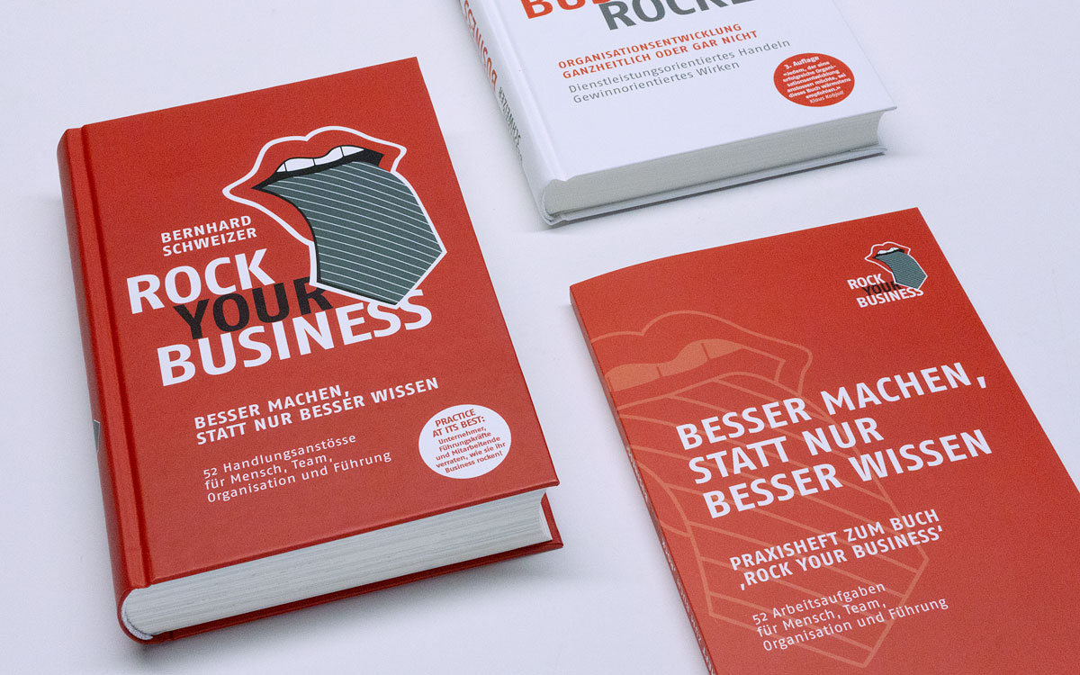 Business Rocker Buchpaket